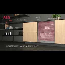 AEG - Einbau Geschirrspüler, 45cm - FEB31400ZM