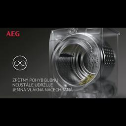 AEG - Sušička s tepelným čerpadlem - T8DEE68SC