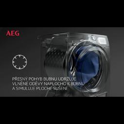 AEG - Sušička s tepelným čerpadlem - T8DBG48WC