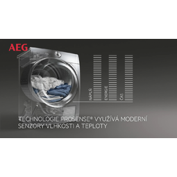AEG - Sušička s tepelným čerpadlem - T8DEG48SC