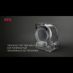 AEG - Wärmepumpen-Trockner - T8DB60570