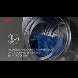AEG - Wärmepumpen-Trockner - T8DE86685