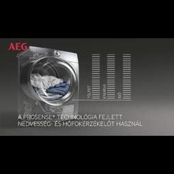 AEG - Kondenzációs szárítógép - T6DBG28W