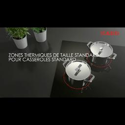 AEG - Table de cuisson à induction - HK764403IB