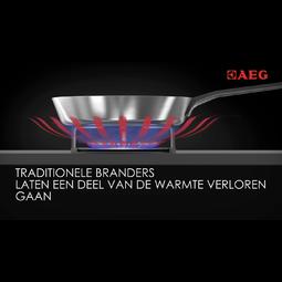 AEG - Gaskookplaat - HG755820UM