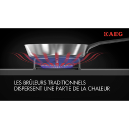 AEG - Table de cuisson au gaz - HG755820UM