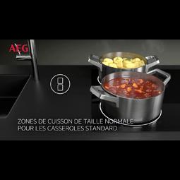 AEG - Table de cuisson à induction - HC452401EB