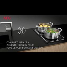 AEG - Table de cuisson à induction - HKP85410FB