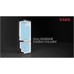 AEG - Volně stojící kombinovaná chladnička - S93930CMXF