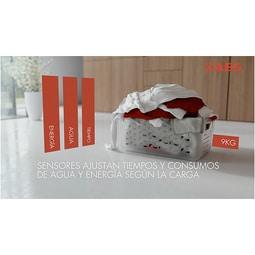AEG - Lavadora de carga frontal - L74486WFL