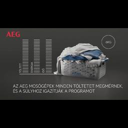 AEG - Elöltöltős mosógép - L7FEC48S
