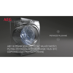 AEG - Pralka ładowana od frontu - L8FEC68SP