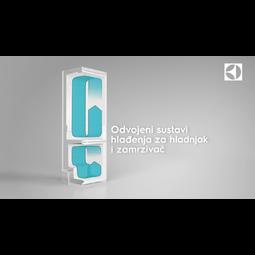 Electrolux - Ugradbeni hladnjak sa zamrzivačem - Ugradbeni - ENN2853COW