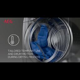 AEG - Wärmepumpen-Trockner - T8DB76584W