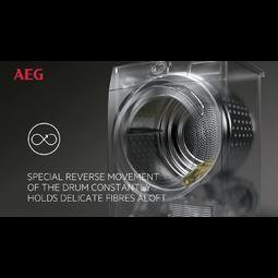 AEG - Secadora con Bomba de Calor - T8DEC866