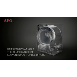 AEG - Heat pump dryer - T8DEA866C