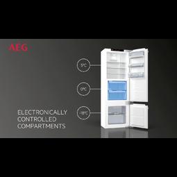 AEG - Integrated refrigerator - Built-in - SKK81826ZC