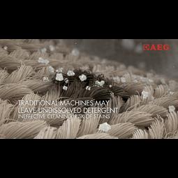 AEG - Edestä täytettävä pyykinpesukone - AL77688F