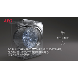 AEG - Front loader washing machine - L6FBG141R