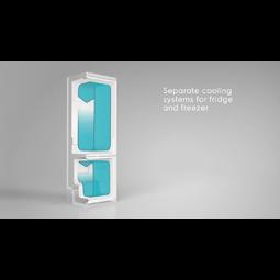 Electrolux - Отдельностоящий холодильник - EN93489MW