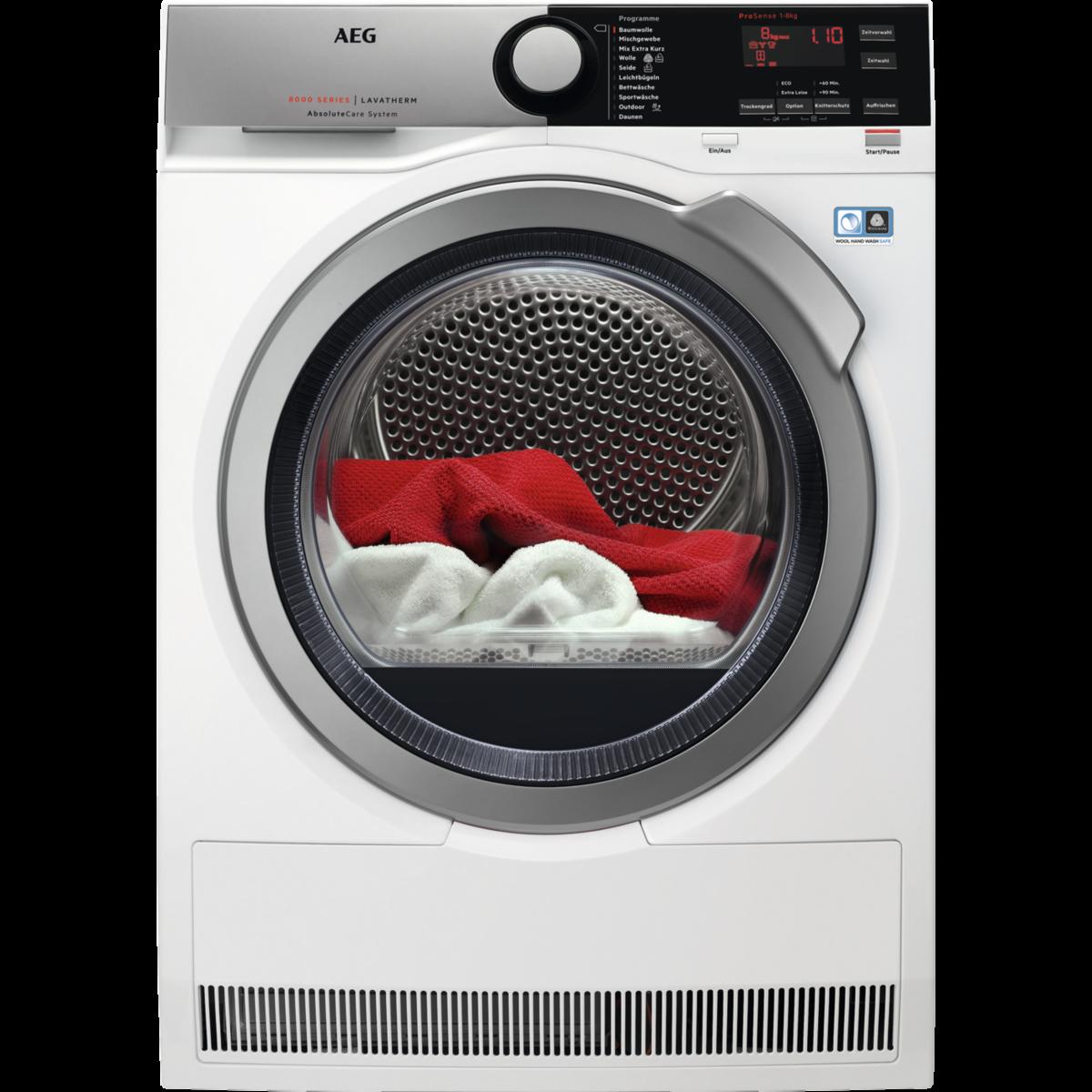 Wäschetrockner mit SensiDry® Technologie