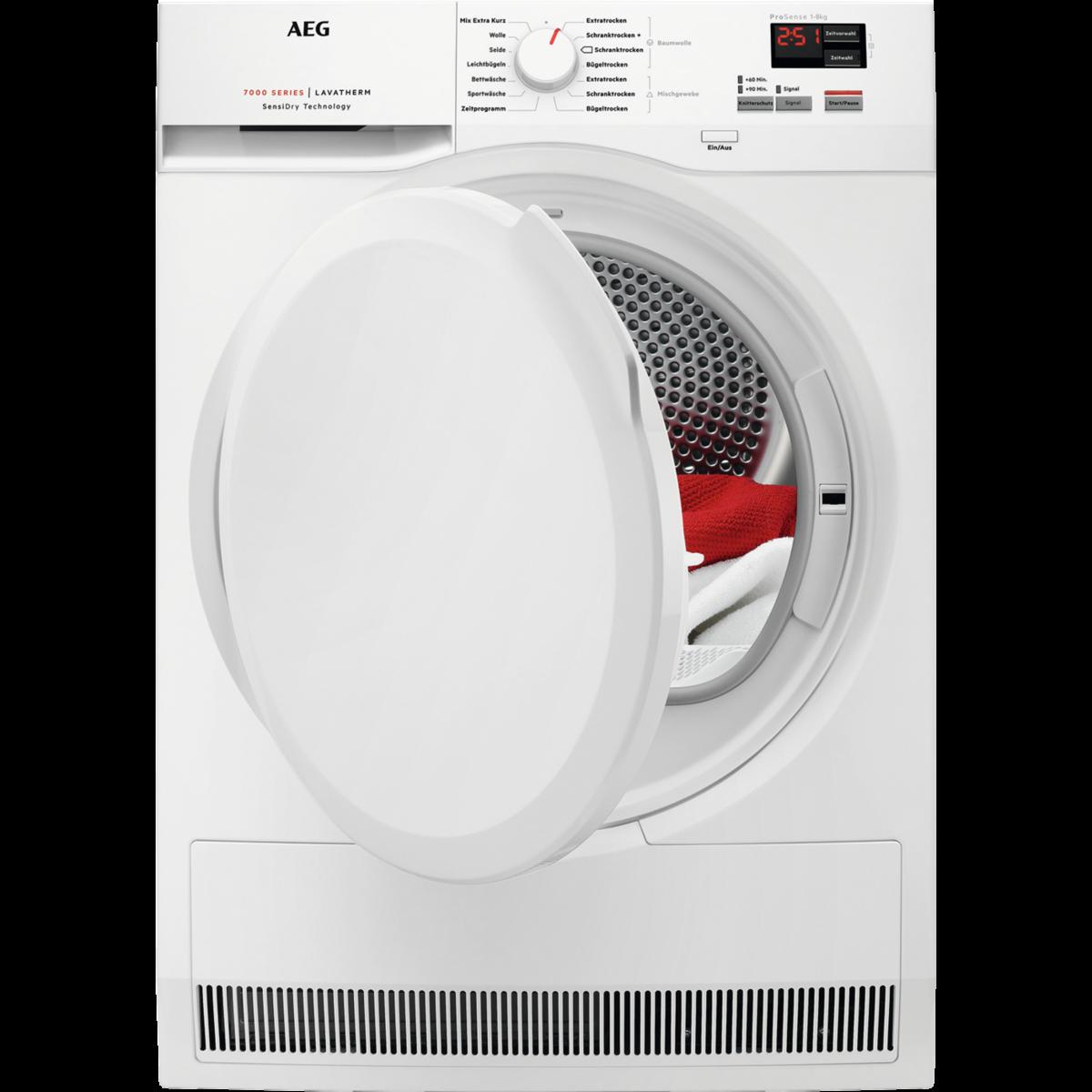 Wärmepumpentrockner mit SensiDry® Technologie
