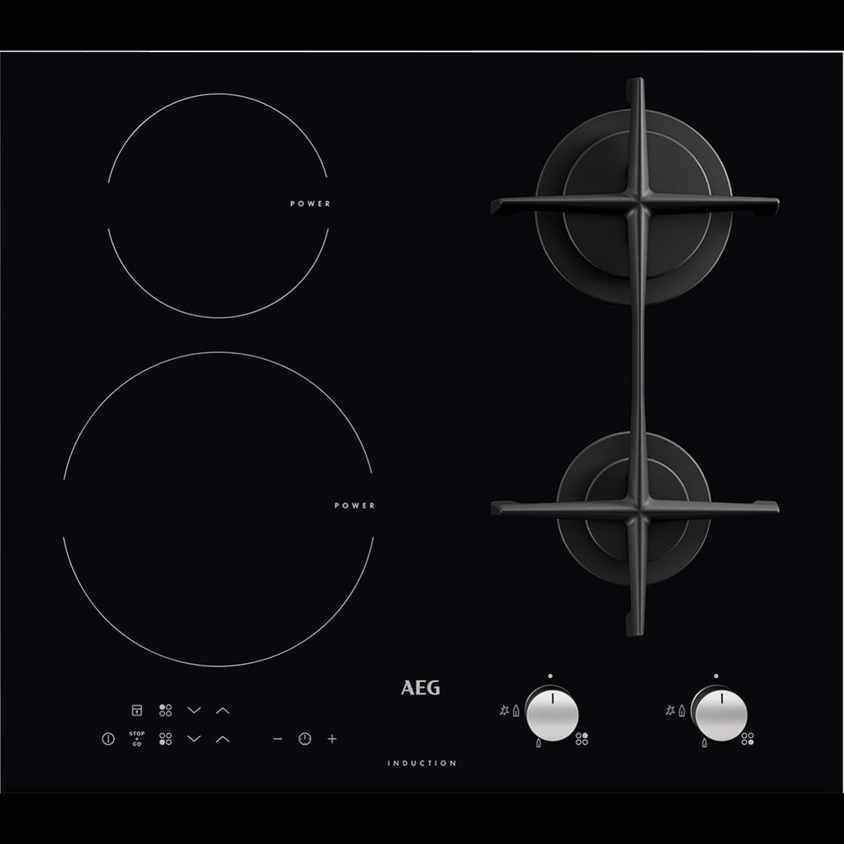 Piano Cottura Induzione Non Funziona piano cottura misto 60 cm hd634170nb