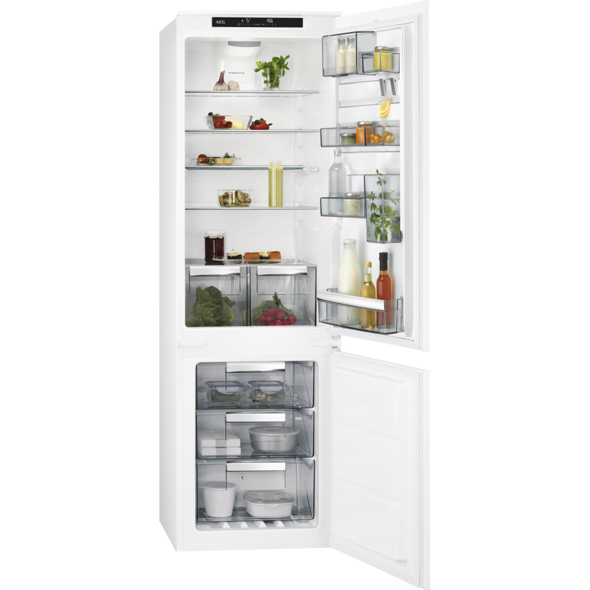 FROST FREE INTEGRATED FRIDGE FREEZER