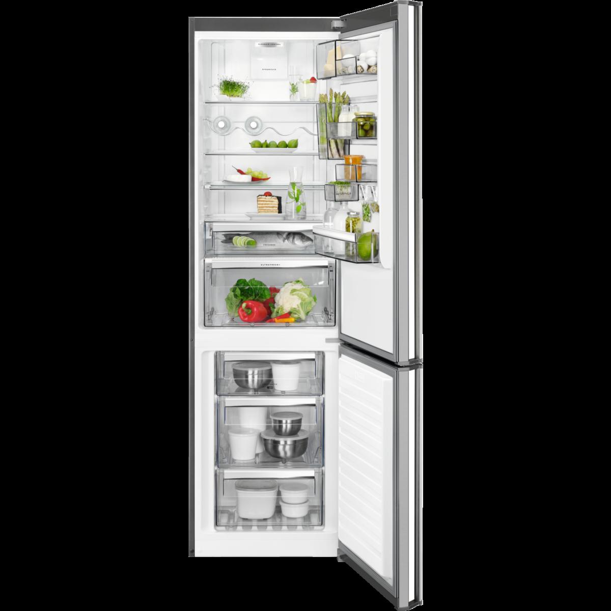 Brīvstāvošs ledusskapis ar saldētavu