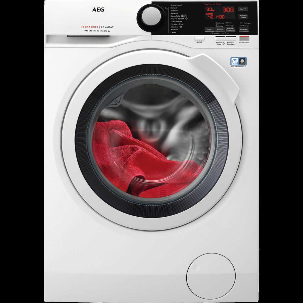 Lavatrice con tecnologia ProSteam®