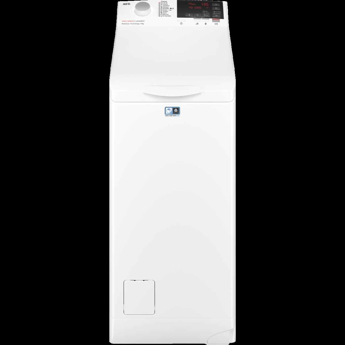 AEG LTX6G261E Felültöltős mosógép, 6 kg, 1200 fp., A+++