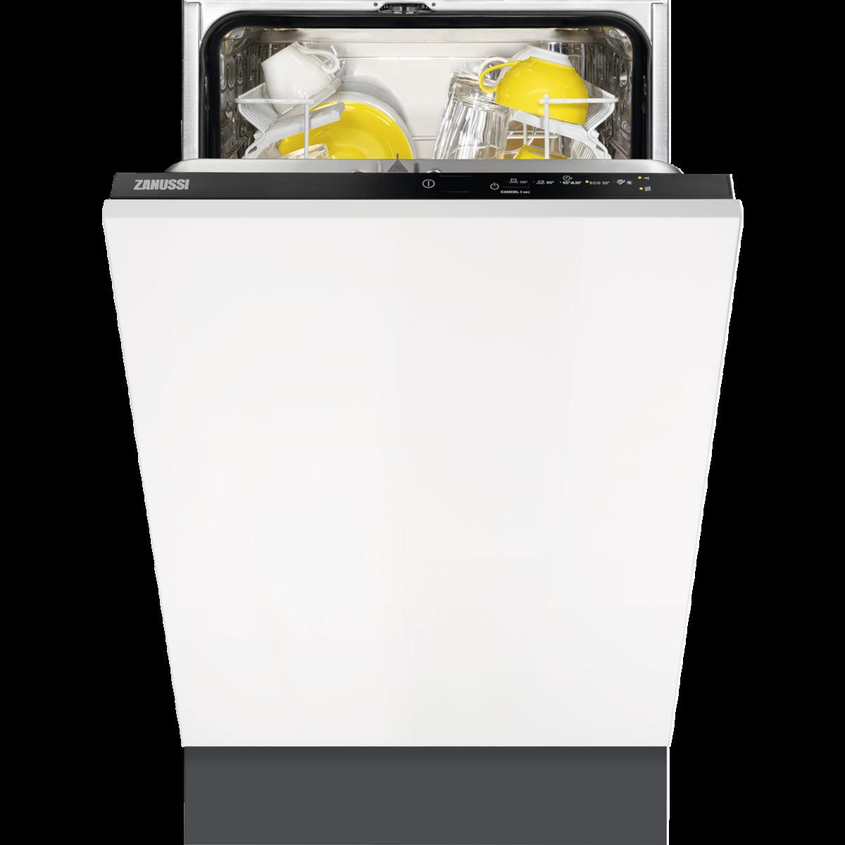 Zanussi ZDV12003FA Beépíthető mosogatógép