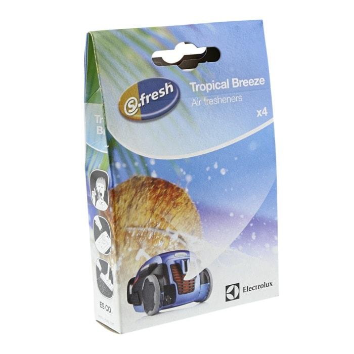 S fresh doftkulor för dammsugare Tropical Breeze från