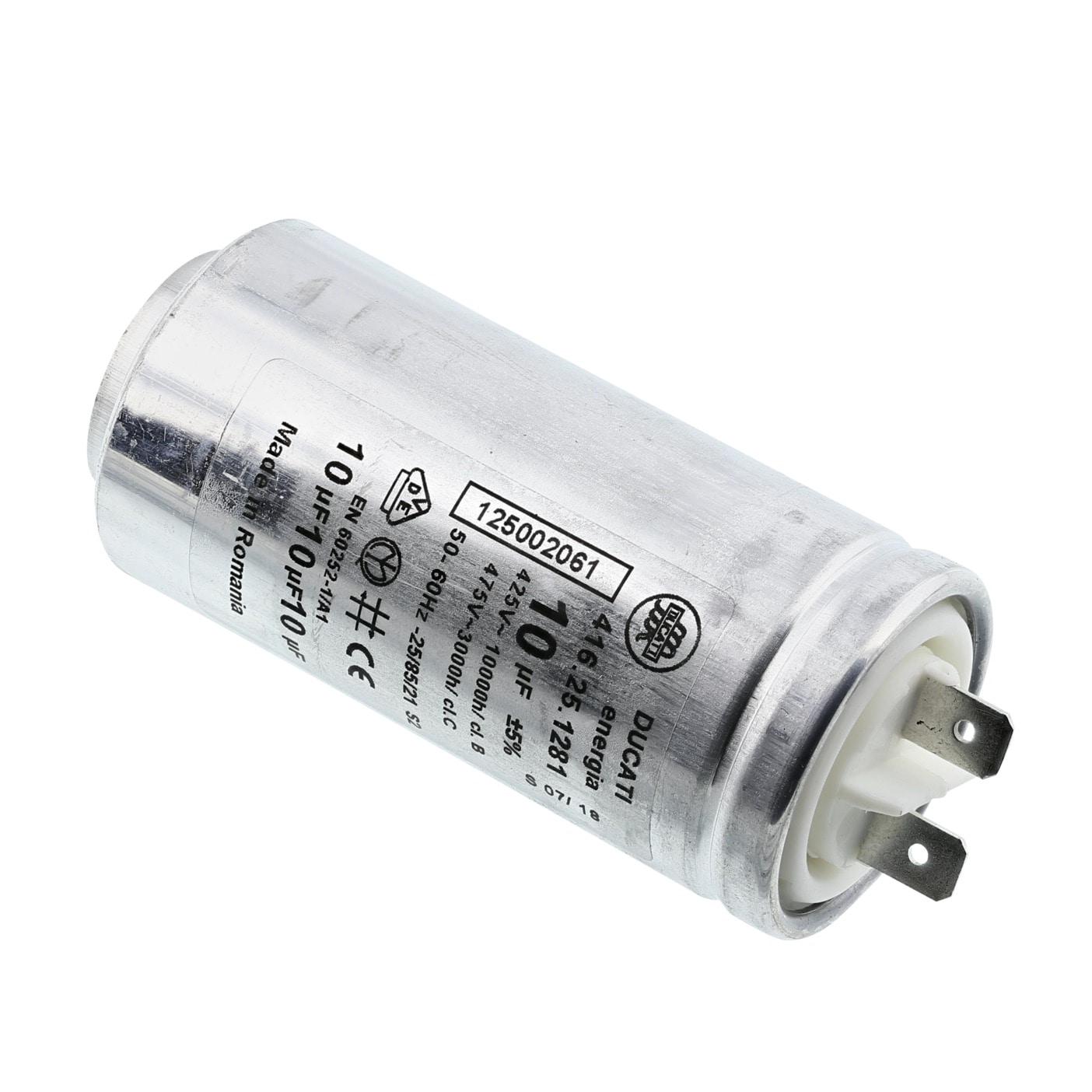 Betrieb 10uF 450V Ø35x65mm MIFLEX I150V610K-G10 Kondensator für Motoren