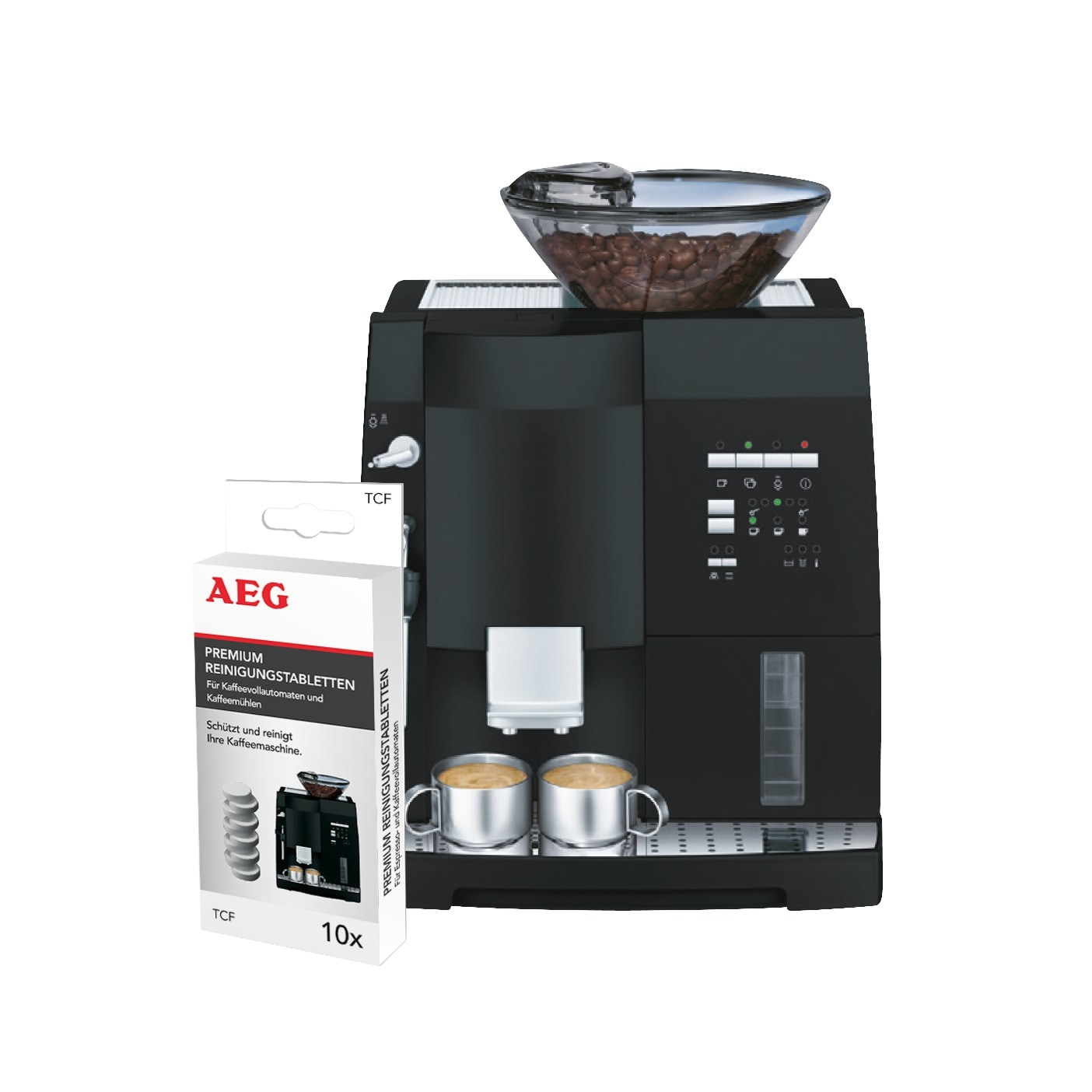 Descaling Tablets For Fully Automatic Coffee Machines And Espresso Makers X10