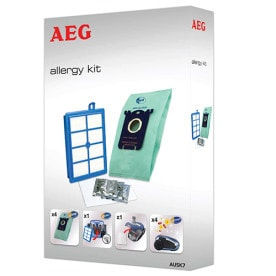 AUSK7 s-bag Allergy Kit, Vorteil-Set für u.a. UltraOne, UltraSilencer, 4x s-bag GR206, Allergy Plus Filter, Motorfilter, s-fresh