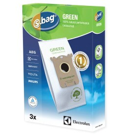 electrolux ultrasilencer bags. e212b s-bag® green vacuum cleaner bags, 3 bags electrolux ultrasilencer