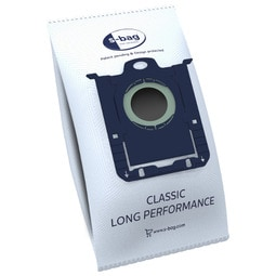 E201P s-bag® Classic Long Performance dammsugarpåsar, 4 påsar